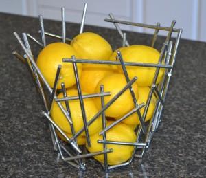 A bouquet of lemons