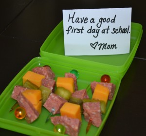 Back-to-school lunch