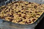 Unbaked granola bars
