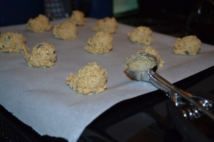 Buckwheat Oatmeal cookie dough