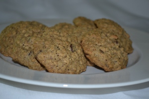 Buckwheat Oatmeal Cookies