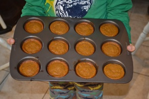 Spiced Pumpkin Muffins