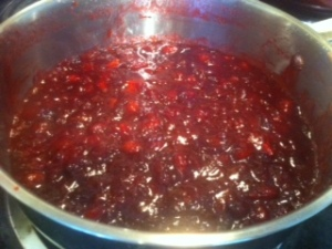 cooked cranberry chutney