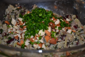 Quinoa and Sage Stuffing