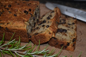 Rosemary Currant Soda Bread