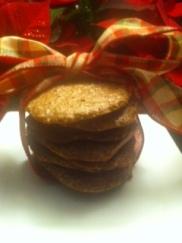 Chocolate Meringue Crisps