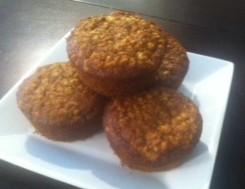 Fermented Oatmeal Muffins