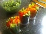 Guacomole with Veggies
