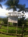 Surfing Goat Dairy Sign, Maui