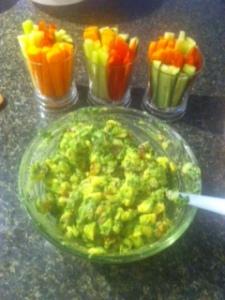 Fresh Home-made Guacomole