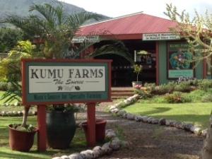Kumu Farm Stand, Maui