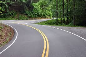 Winding Westcoast Road