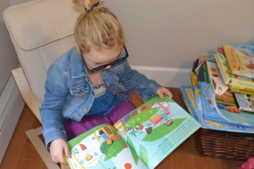 Reading Time at Preschool