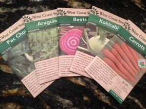 seeds for fall garden