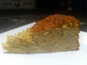 Cake - A slice of Apple Cardamom Cake