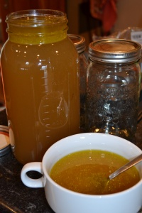 Chicken Bone Broth - Infused with Herbs and Spices