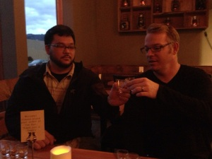 Hood River - Enjoying a Flight at Camp 1805