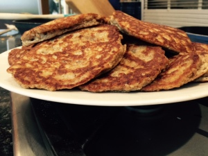 Fluffy Oat and Almond Pancakes 3